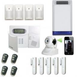 Explication sur la composition d'un système d'alarme
