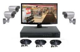 Pack vidéosurveillance professionnel