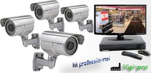 Kit de vidéosurveillance professionnel